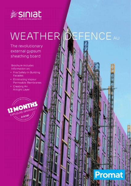 Siniat Weather Defence Technical Manual_AU_20.06_rev3