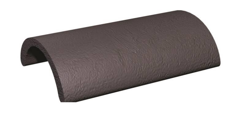 Concrete Ridge Tile - Half Round Ridge