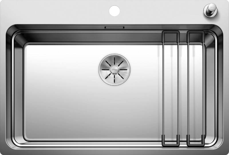 Etagon Stainless Steel Inset Single Bowl