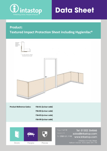 Impact Protection Sheet Data Sheet