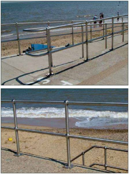 Industrial Handrail System