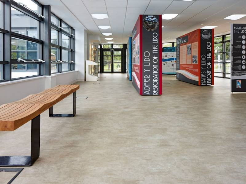 Polyflor helps restore Lido Ponty to its former glory