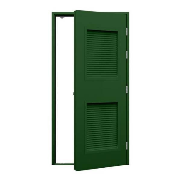 Louvred Fire Exit Door (Security)