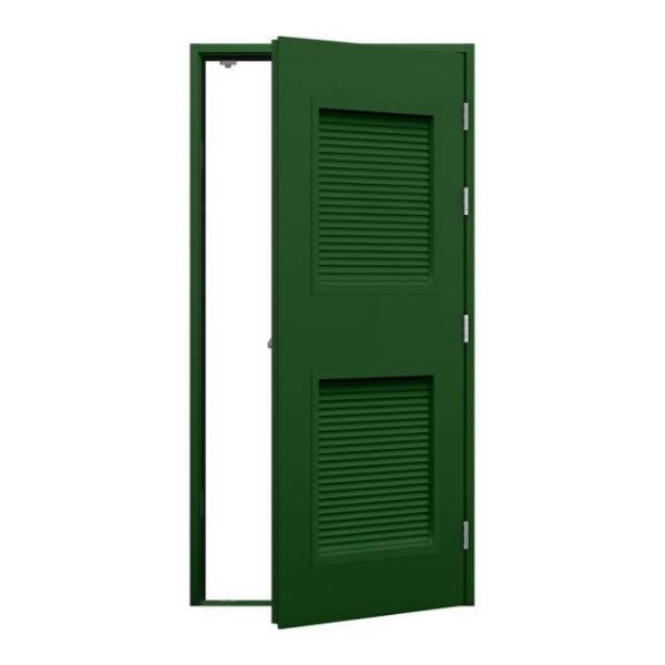 Louvred Fire Exit Door (Security)