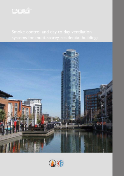 Smoke control and day-to-day ventilation for multi-storey residential buildings