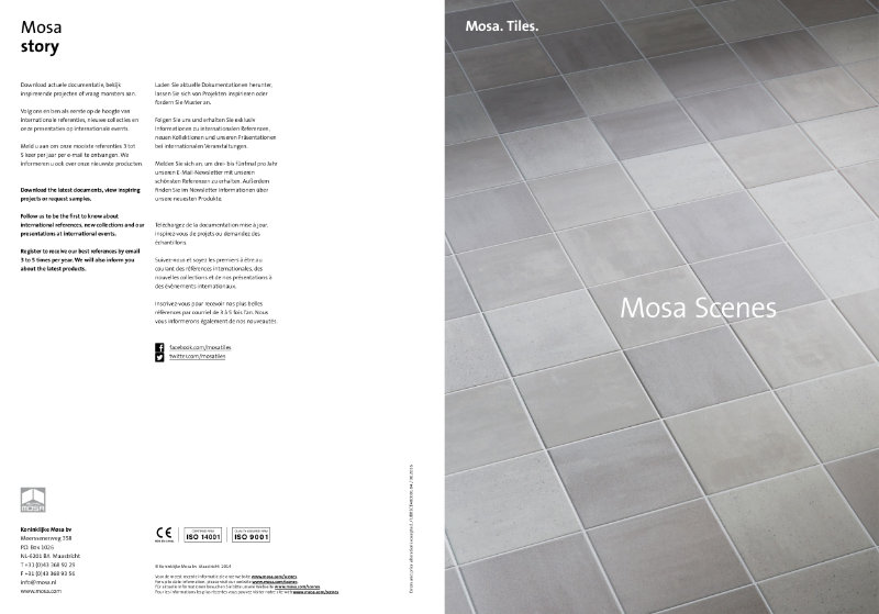 11. Mosa Scenes - Buy a range, own a concept