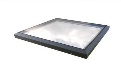 Fixed Flat Glass Rooflight - Brett Martin Mardome