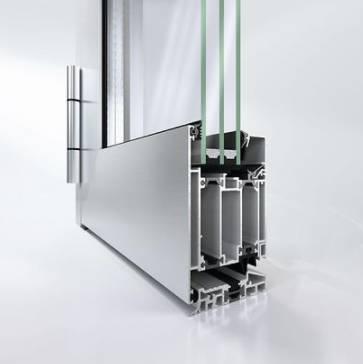 Aluminium entrance door - AD UP 75