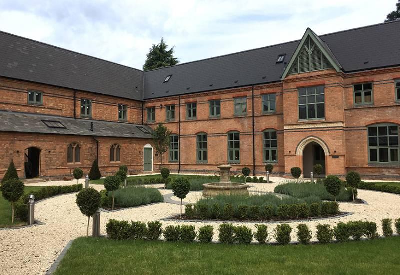 Impressive brick match for former convent