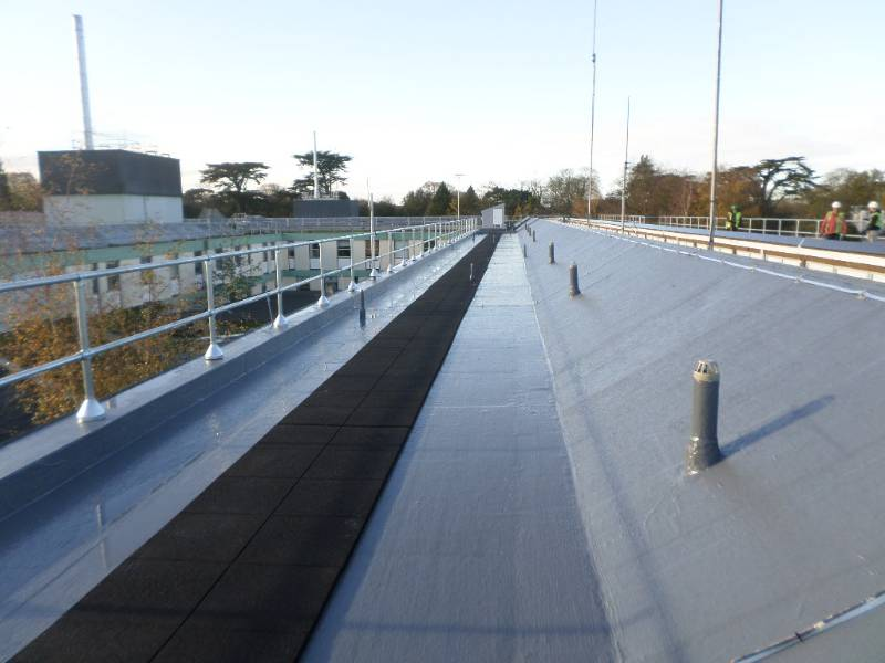 DECOTHANE IS EFFECTIVE MEDICINE FOR WEST SUFFOLK HOSPITAL ROOF