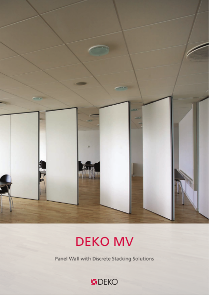 Deko MV - Panel Wall with Discrete Stacking Solutions