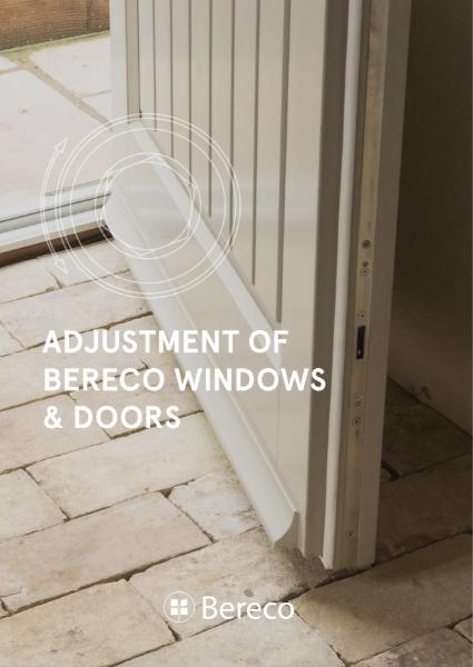 Bereco Adjustment Guide