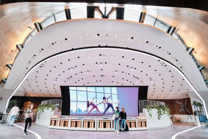 Rockfon high performance ceilings at SamsungKX
