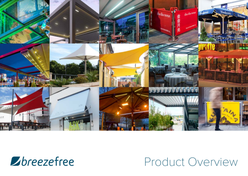 Breezefree Original Alfresco Thinking – Products Overview