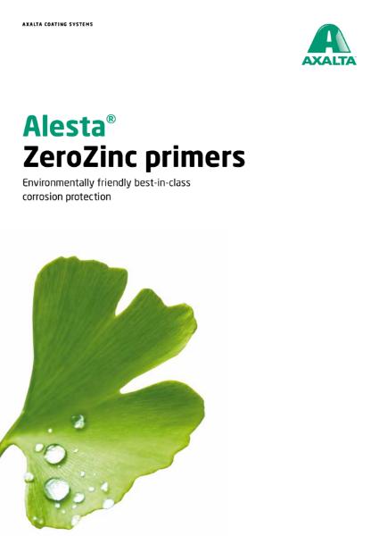 Corrosion protection - Alesta ZeroZinc Primer