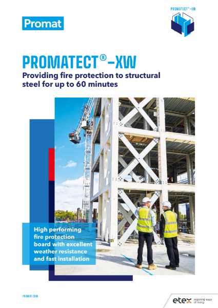 Promat Promatect®-XW - High Performance Fire Protection Board