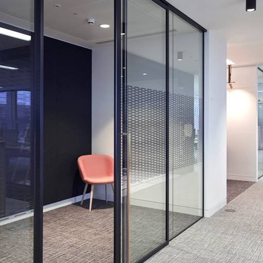 Kinetic Aero SG Partition & Sliding Door -Panel partitions