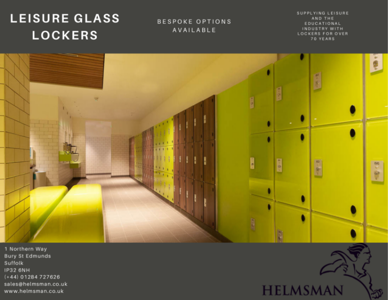 Glass Lockers