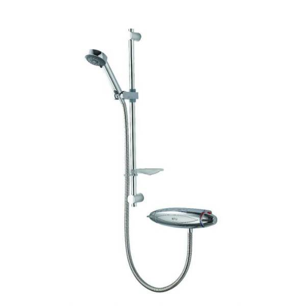 Colt exposed mixer shower with adjustable head