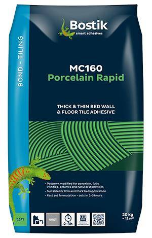 Bostik MC160 Porcelain Rapid Tiling Adhesive
