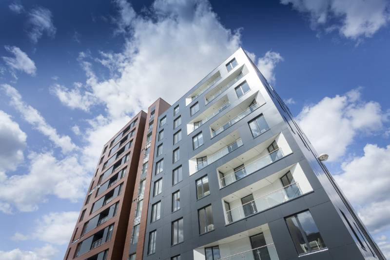 11-storey new build, Salford Quays