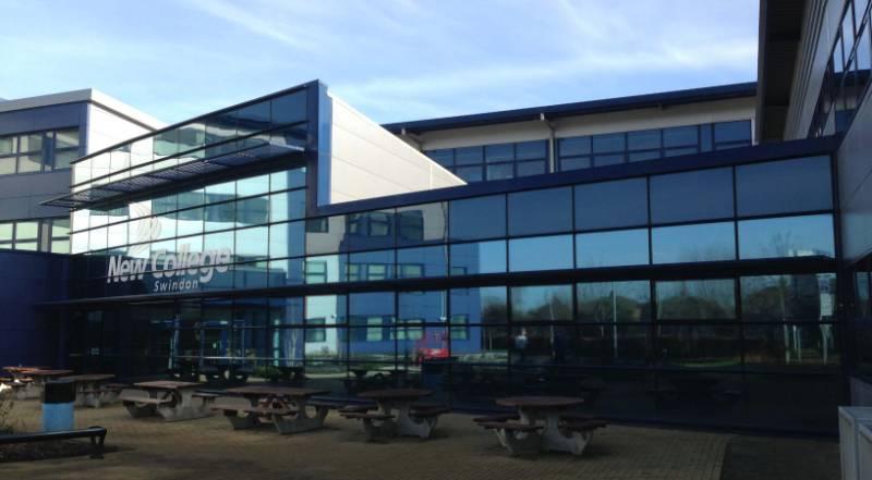 Solar Control Film for new College, Swindon