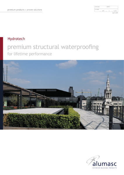 Hydrotech Premium Structural Waterproofing for Lifetime Performance