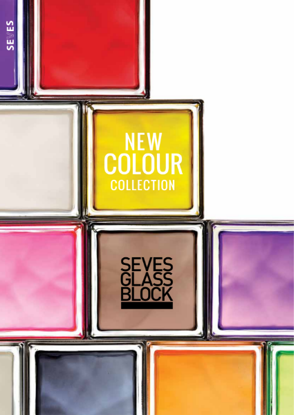 Seves Glass Block New Colour Collection