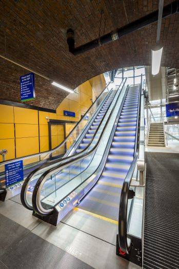 Stannah lift products star in spectacular new entrance to Leeds Station