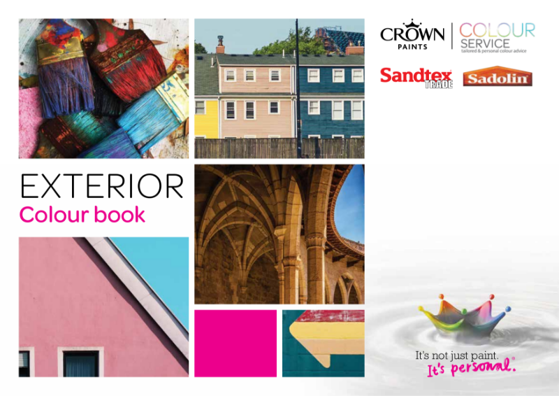 Crown Paints Exterior Colour Book