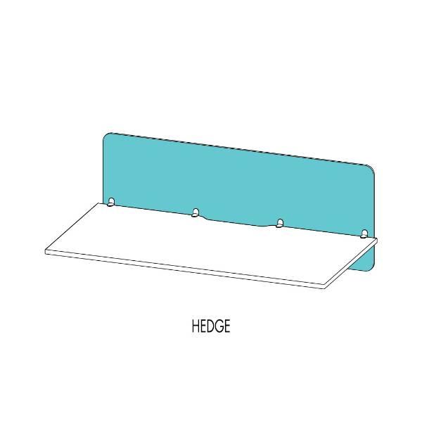 Vicinity™ Desk Screens Hedge