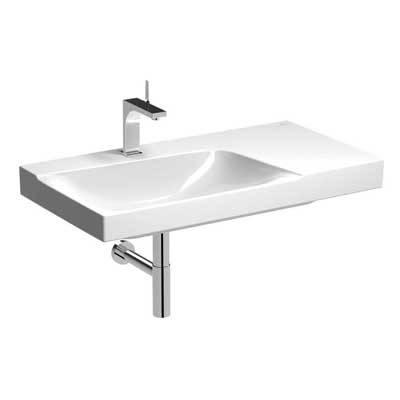XENO² Washbasin 900 with shelf (127190000, 127193000, 127290000 and 127293000)