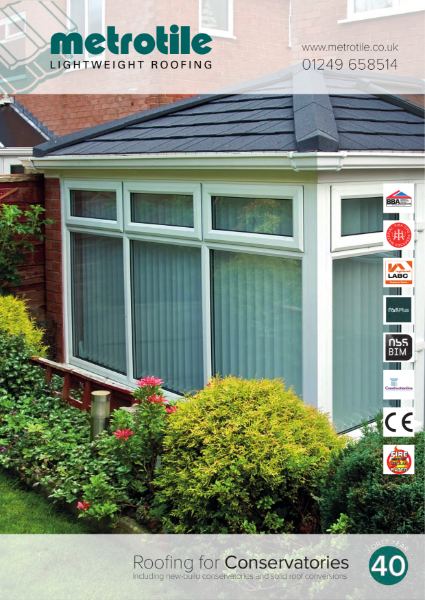 Metrotile for Conservatories
