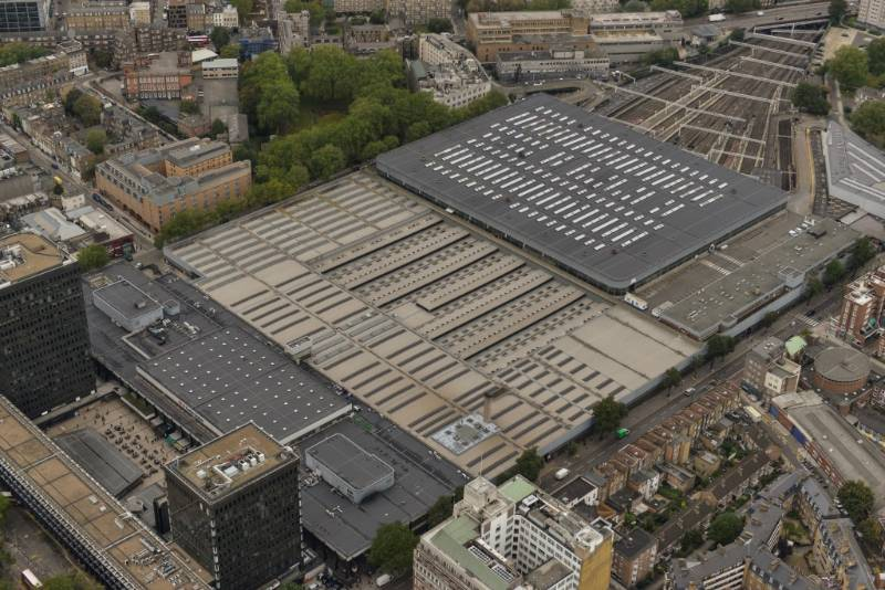 Replacing the 55,000m2 Roof Area at Euston Station