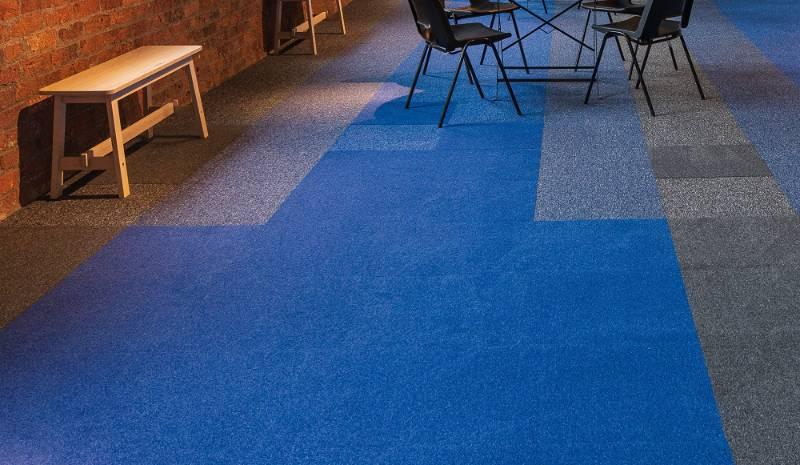 Jazz Cut Carpet Tile