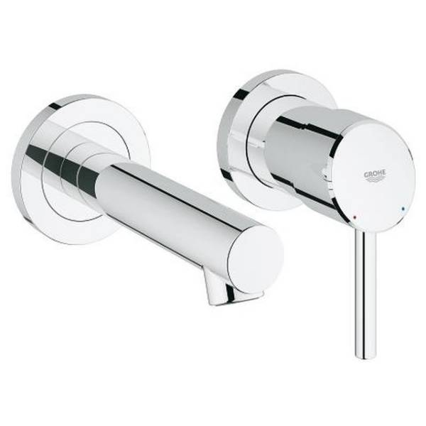 Concetto Two-Hole Basin Mixer