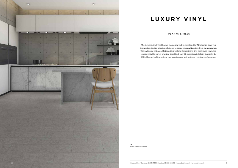Luxury Vinyl Tile collection