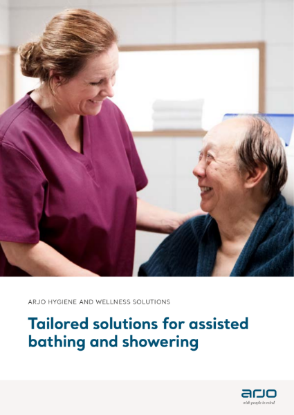 Arjo Tailored Solutions for Assisted Bathing and Showering
