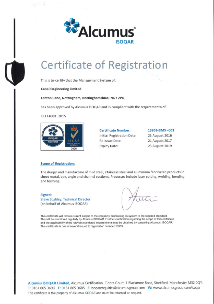 ISO 4001 Environmental-1