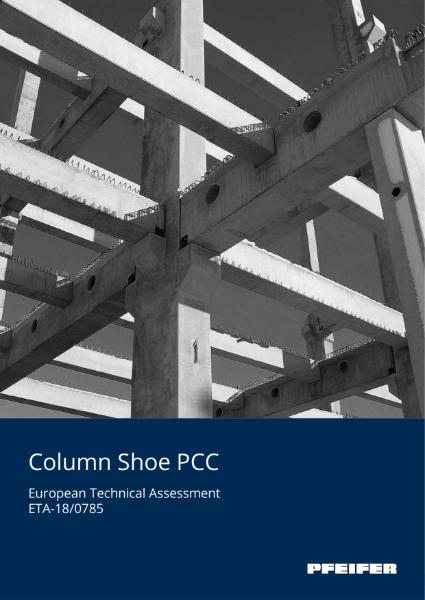 Pfeifer Column Shoe PCC for Precast Column Connections