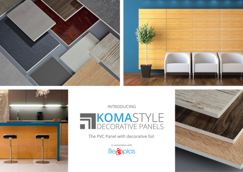 Beplas Komastyle Decorative PVC Wall Cladding