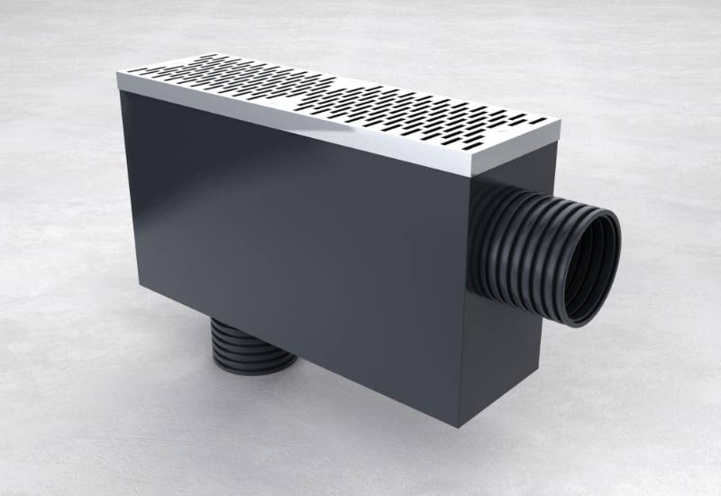 Ground Level Vent Box - CGV-017