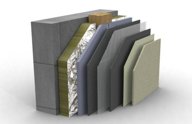 PermaRock Exterior Render System (Back-ventilated Render Rainscreen) (Non-Insulated)
