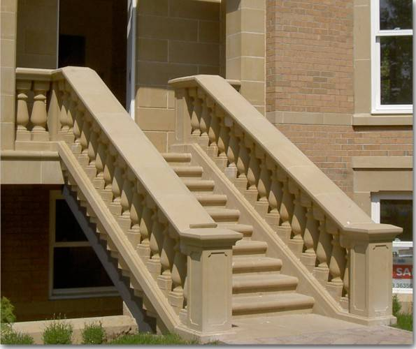 Balustrade - Coping, Top Rail and Plinth