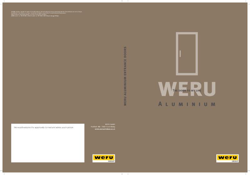 WERU Front Door Brochure