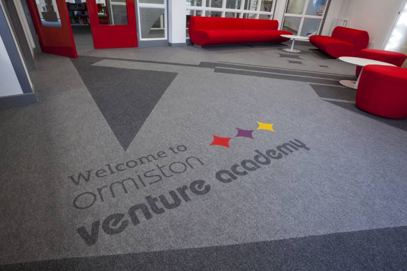 School Carpet Case Study - Bespoke Carpet Products