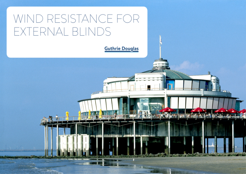 Specifying External Blinds for Wind Resistance