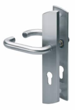 Inoxi Long Plate Handle Pair (319242/PZ-SSS)