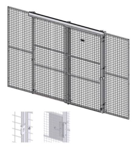 Caelum - Door Sliding Double - Double Rail