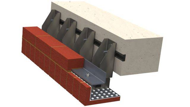 Masonry Support Brick Faced Soffit